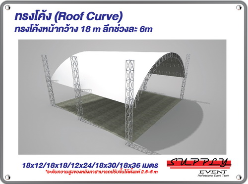 Roof top curve